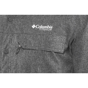 Columbia Irico T-shirt à manches longues Homme, black heather